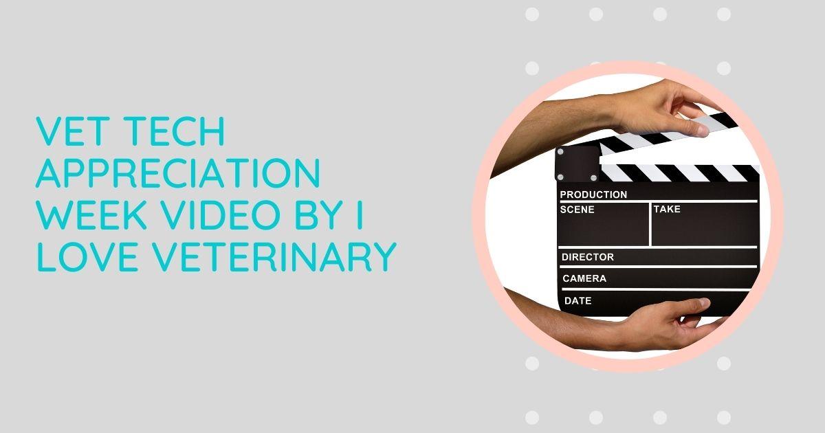 Vet Tech Appreciation Week Video by I Love Veterinary
