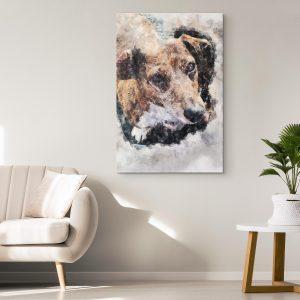 Custom Canvas image